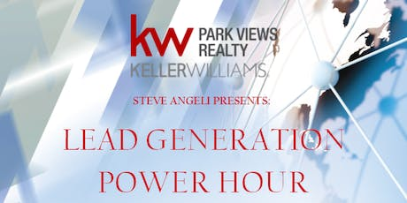 Lead Generation Power Hour with Steven Angeli tickets