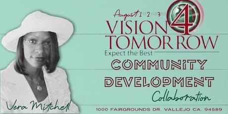 Community Development Collaboration (Vision 4 Tomorrow LLC/GGDO)  tickets
