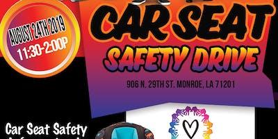 Love CORP Inc- Car Seat Safety Drive