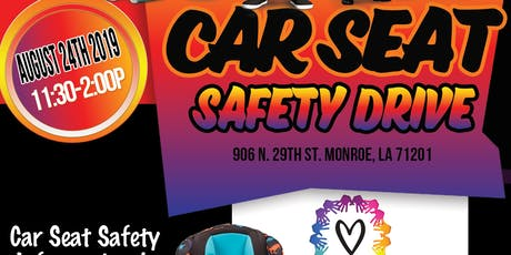 Love CORP Inc- Car Seat Safety Drive tickets