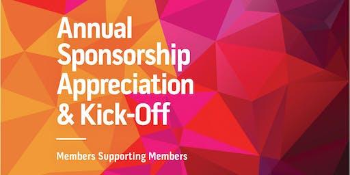 Annual Sponsorship Kick off