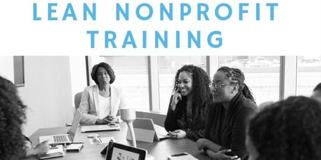 LEAN Nonprofit Training tickets