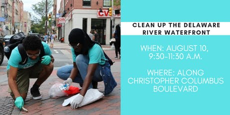 Delaware River Waterfront Clean-up tickets