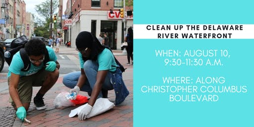 Delaware River Waterfront Clean-up