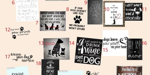 Chalk It Up Fundraiser for Pawsitively Purrfect Rescue @ Radical Wine Company