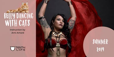 August 2019 Belly Dancing with Cats