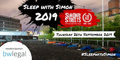 Sleep with Simon 2019 tickets