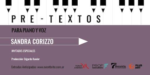Pretextos para piano y voz con Sandra Corizzo