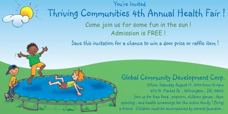 Thriving Communities 4th Annual Health Fair tickets