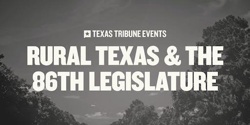 Rural Texas and the 86th Legislature