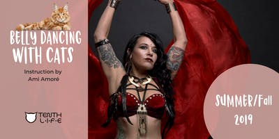 September 2019 Belly Dancing with Cats