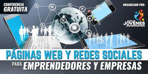 PÁGINAS WEB Y REDES SOCIALES PARA EMPRENDEDORES Y EMPRESAS - MACHALA
