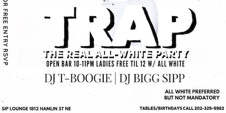 TRAP ( The Real All-White Party) tickets