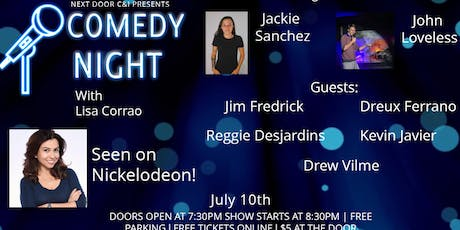 Comedy Night with Lisa Corrao from Nickelodeon tickets