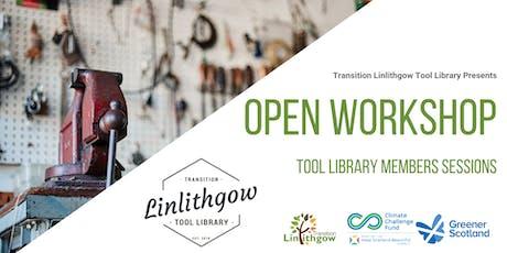 Open Workshop tickets