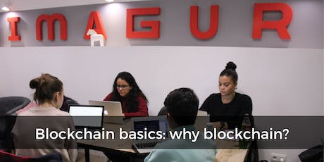 Blockchain basics: why blockchain? (In english) tickets
