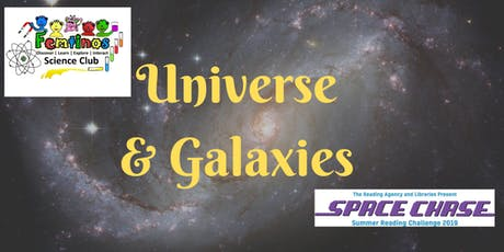 Universe and Galaxies with Femtinos at Atherstone Library tickets