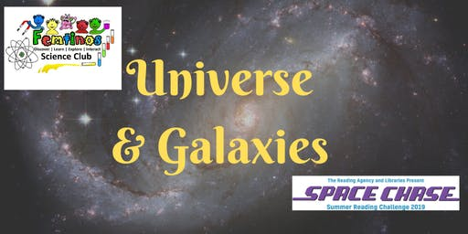 Universe and Galaxies with Femtinos at Kenilworth Library