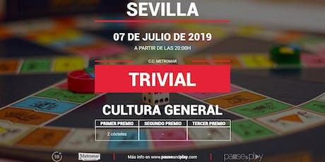 Trivial general en Pause&Play Metromar entradas