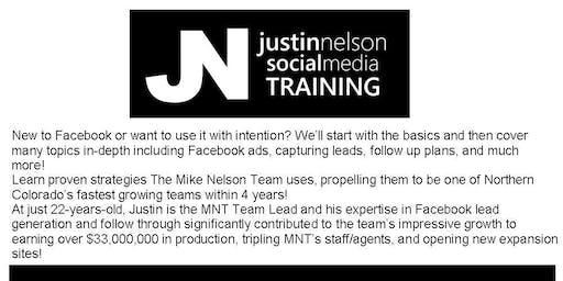 Justin Nelson Social Media Training