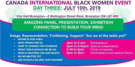 #CIBWE19 - Day 3: Image, Representation, Trailblazing, Support tickets