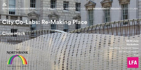 City Co-Labs: Re-Making Place Civic Hack Activation Session tickets
