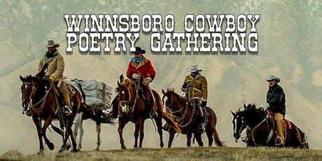 Winnsboro Cowboy Poetry Gathering tickets