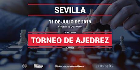 Torneo de Ajedrez en Pause&Play Metromar entradas