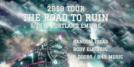 Random Ideas w/ The Road To Ruin and Body Electric @ Empire Live Music & Events tickets