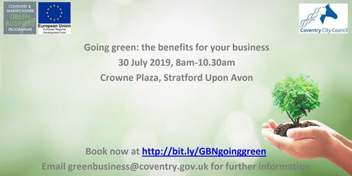 Going green: the benefits for your business