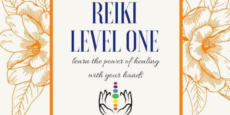Reiki Level One Certification Class tickets