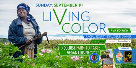 Living Color Racial Equity Dialogue Dinner - RVA tickets