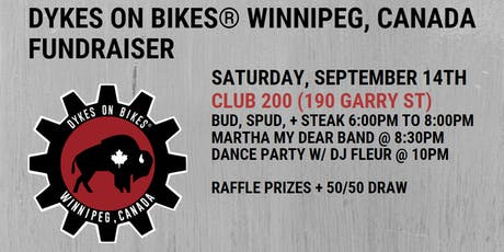 Dykes on Bikes® Winnipeg, Canada Fundraiser tickets