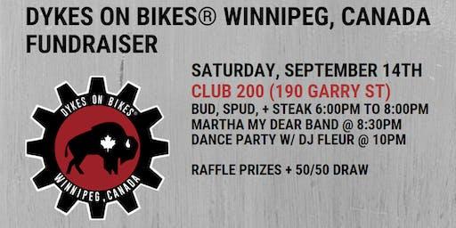 Dykes on Bikes® Winnipeg, Canada Fundraiser