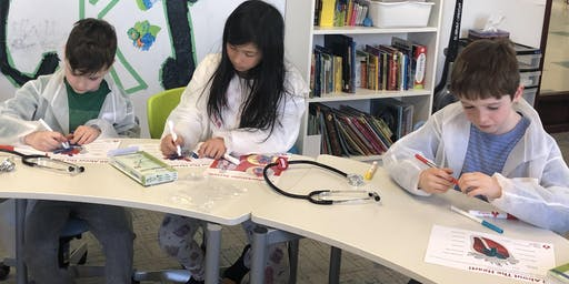 Free Little Medical School Class,  All About the Heart (8-12 YO), Kids Kingdom Kanata