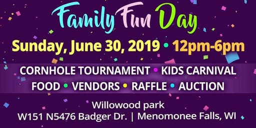 Family Fun Day - Miss WI United States Fundraiser