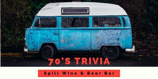 TRIVIA NIGHT-The 70's