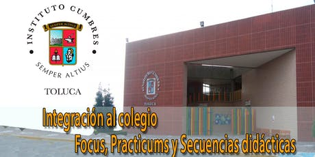 Taller 10: Integración al colegio (Focus, practicum y secuencias didácticas) entradas