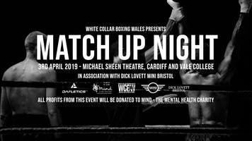 White Collar Boxing Wales Presents MATCH UP NIGHT - Cardiff - 10th July 19
