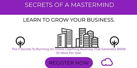 Secrets of a Mastermind  tickets