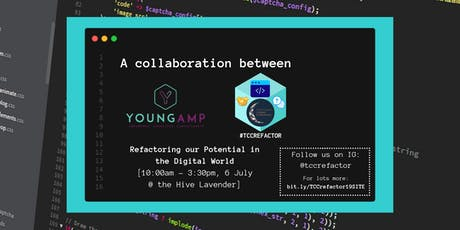TCCRefactor 2019 - Refactoring our Potential in the Digital World tickets