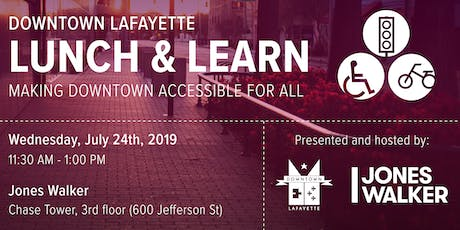 Downtown Lunch & Learn: Accessibility tickets
