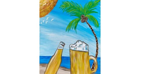 Alematic Artisan Ales - Cheers On The Beach - Paint Party
