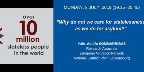 Why do not we care for statelessness as we do for asylum? tickets