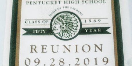 Pentucket High School Class of 1969 Fifty Year Reunion tickets