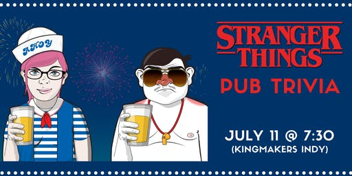 Geeks Who Drink Pub Trivia: Stranger Things (INDY)