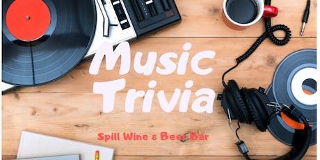 TRIVIA NIGHT-Music Trivia tickets