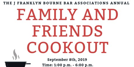 JFB ANNUAL FRIENDS AND FAMILY COOKOUT tickets
