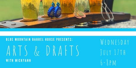 Arts & Drafts with MickyAnn tickets