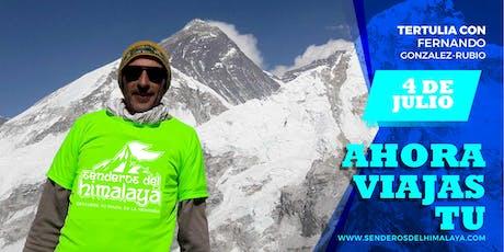 Charla - Trekking por el Himalaya - Viajes  Aventura  Tertulia  Aire libre tickets